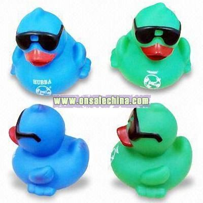 Floating Ducks with Sunglasses and Heavy Bottom