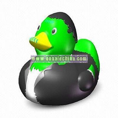 Floating Rubber Frankenstein Duck Toy