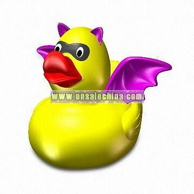 Floating Rubber Bat Duck Toy