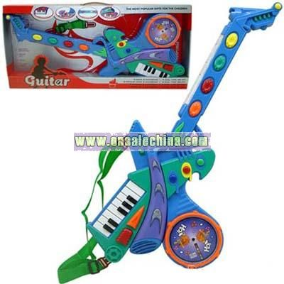 Musical Organ-Battery Operated Guitar With Music