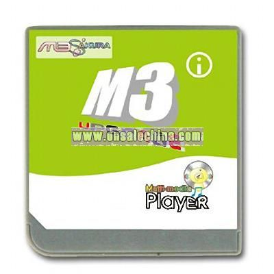 Game Memory Card with DLDI Auto-Patching for Video Game Accessories