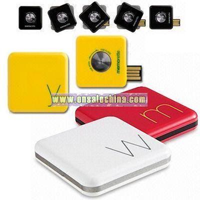 Square Swivel USB Flash Drives