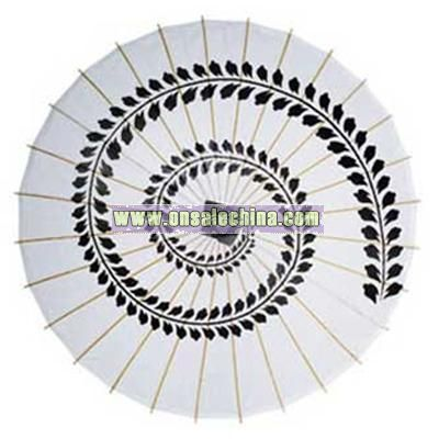 346188d1f great black swirl print paper and bamboo parasol with parasols dports