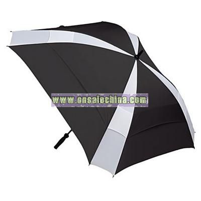NEW! Shed Rain Umbrella 2 Pack Black And Black/Brown Auto Open And