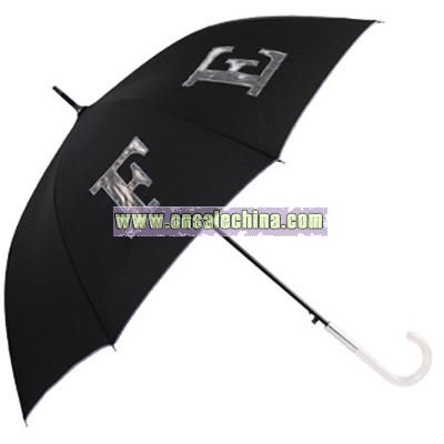Clear PVC See Through Golf Umbrella - Umbrellas No1 UK Store