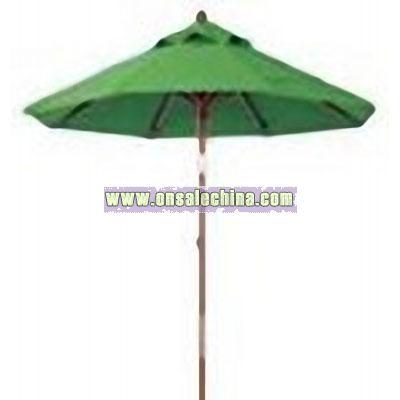 Portable vinyl umbrella