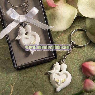 Bride & Groom Key Chain Favors