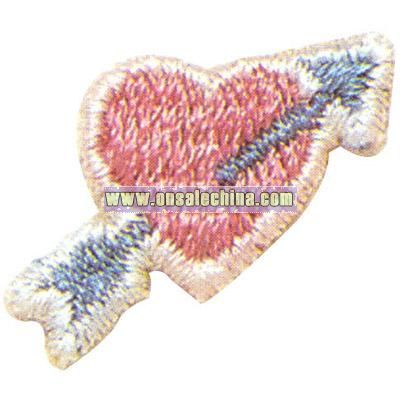 Heart with an arrow going up - Valentine theme washable
