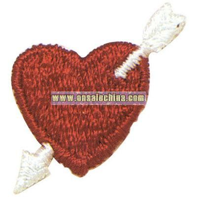 Heart with an arrow going down - Valentine theme washable
