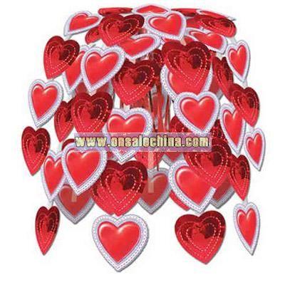 Lace heart cascade 24