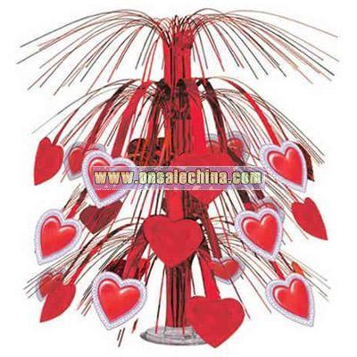 Lace heart cascade 18