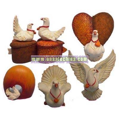 Valentine Day Pigeons