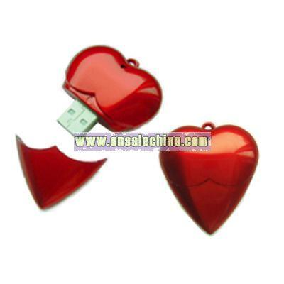 Heart USB Disk