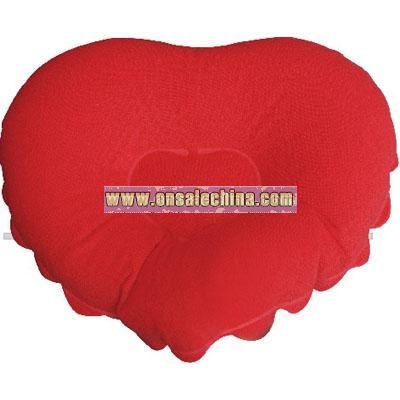 Inflatable Bath Heart Pillow