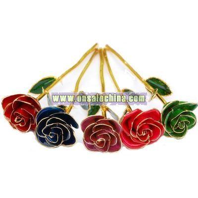 24k Gold Rose Valentine's Day Gift