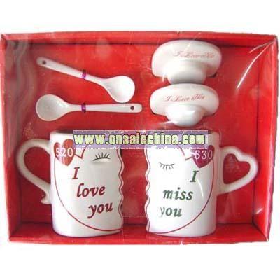 Valentine Cup Set