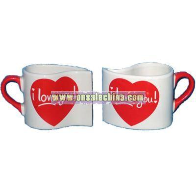 Heart Ceramic Mug