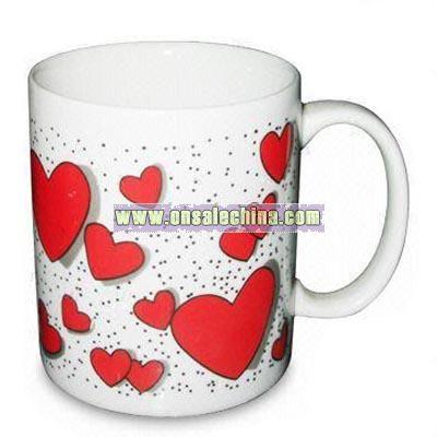 Porcelain Heart Mug