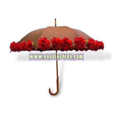 Fashionable Rose Umbrella