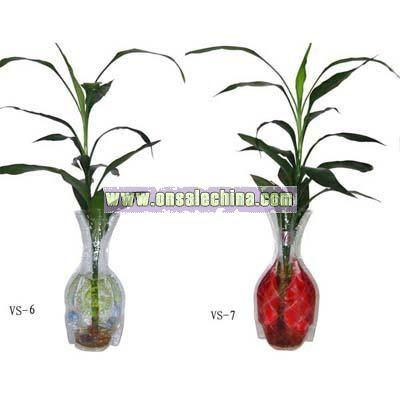 PVC liquid vase