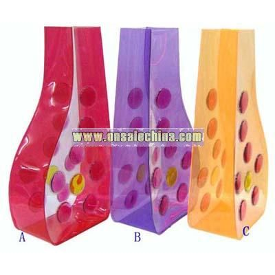 liquid pvc vase