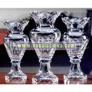 Trophy cup vase