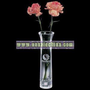 Thick base thin vase
