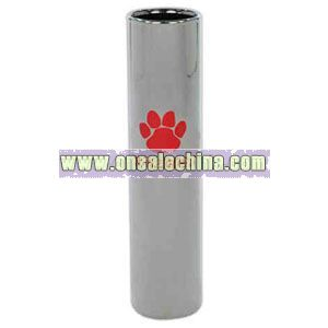 Cylindrical flower bud vase