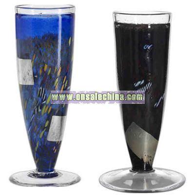 Blue - Handmade vase