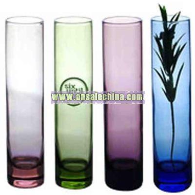 Clear bud vase