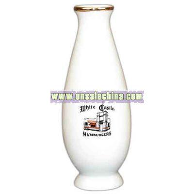 White porcelain bud vase