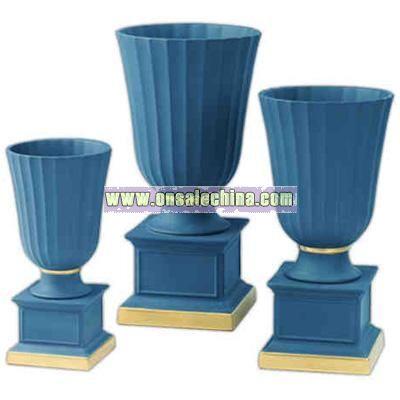 Jasper trophy vase