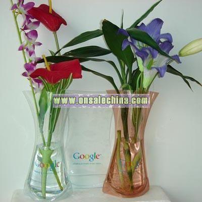 Foldable PVC Vase