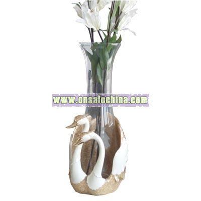 Swan Flower Vase
