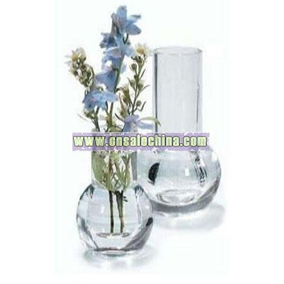 Carlisle Clear Heavy Base Acrylic Bud Vase 6 inch