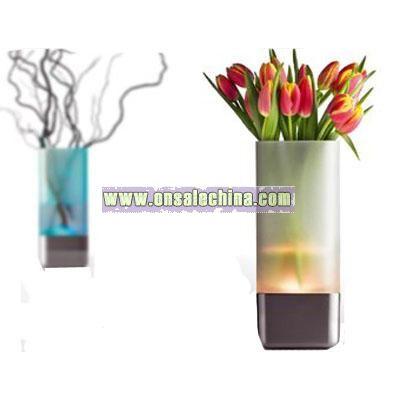 LED-vase for Menu
