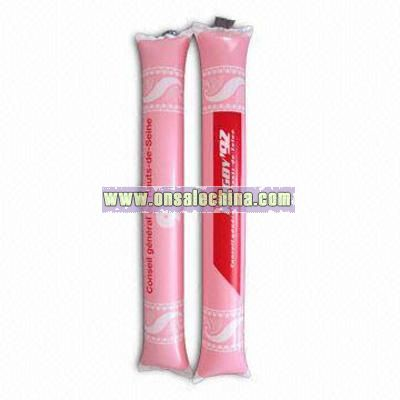 Inflatable Flat-end Cheering Stick