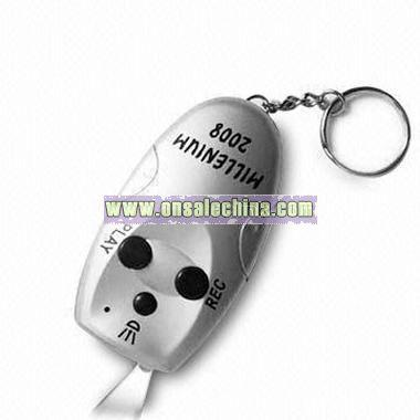 Digital Voice Recording Keychain