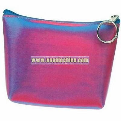 3D Lenticular Purse with Key Ring
