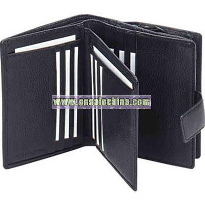 Genuine leather ladies' wallet