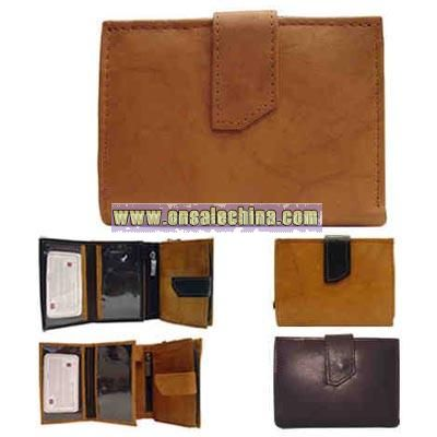Ladies multi section wallet