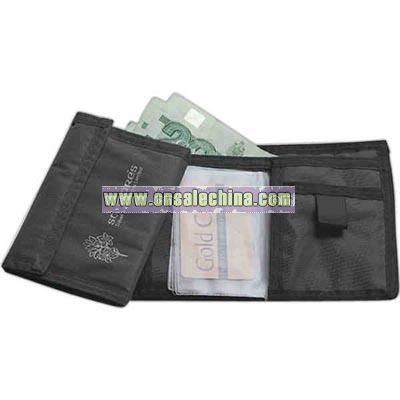 Wallet made of 420 denier nylon
