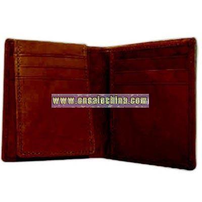 Men's pass case wallet