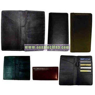 Bi-fold ticket wallet and credit card pockets
