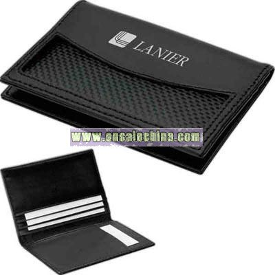 Leather business card case / wallet