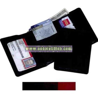 Classic traditional tri-fold wallet