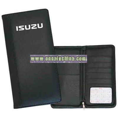 Simulated leather Executive passport holder