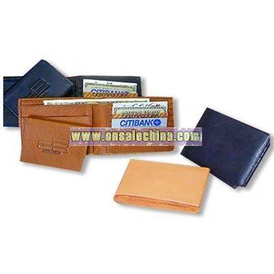 Naked leather pocket wallet