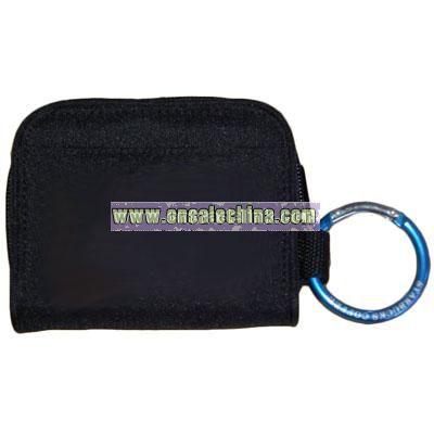 Carabiner Zip Wallet