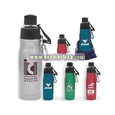 Stainless Steel Sports Bottle.
